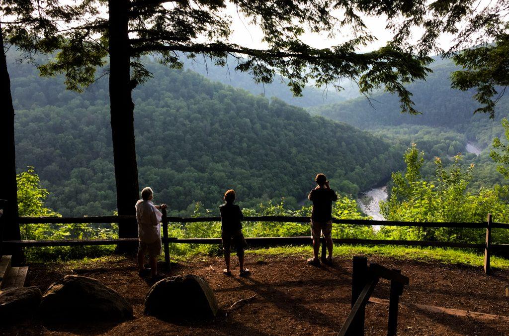 Worlds End State Park Vista | Isaac Golding Photography