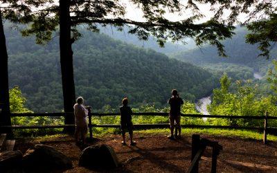 Worlds End State Park Vista